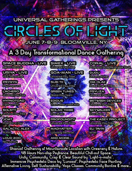 Circles of Light 7 Jun '19, 17:00