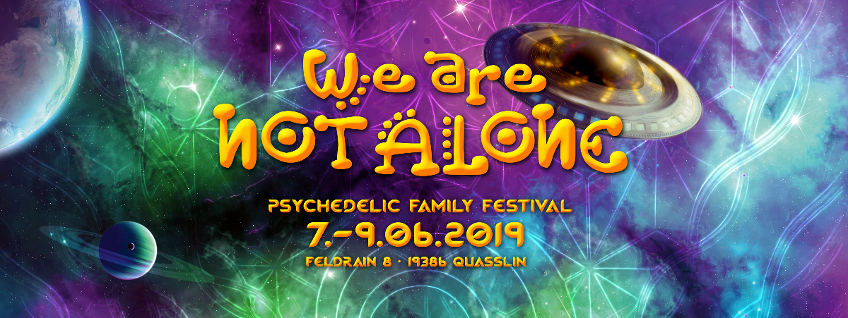 Cancelled - We are not Alone - Cancelled 7 Jun '19, 18:00