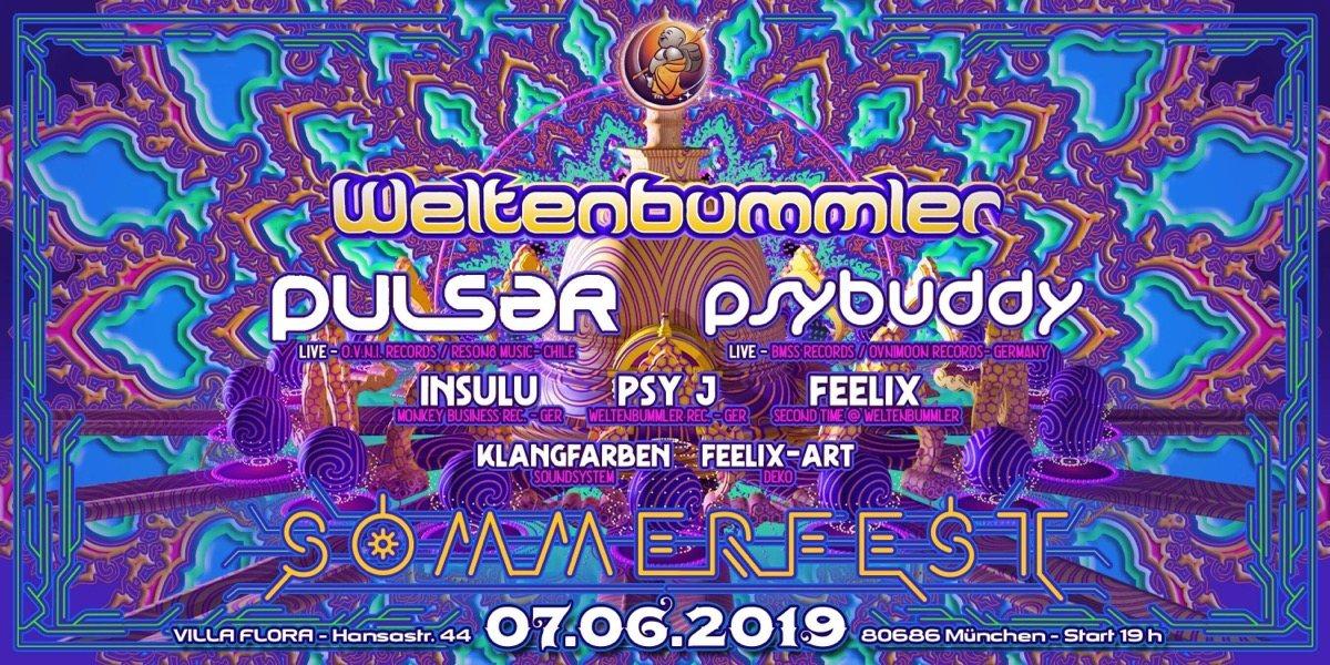 Weltenbummler's Sommerfest 7 Jun '19, 19:00