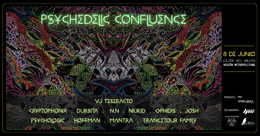 PSYCHEDELIC CONFLUENCE 8 Jun '19, 18:00