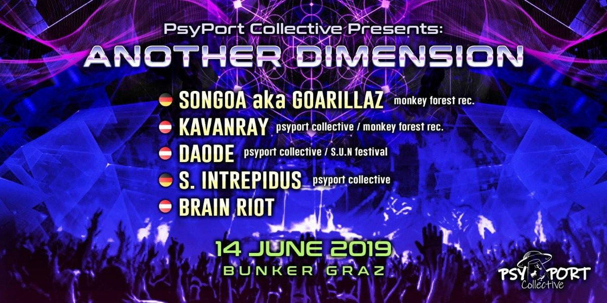 Another Dimension III by PsyPort Collective 14 Jun '19, 22:00