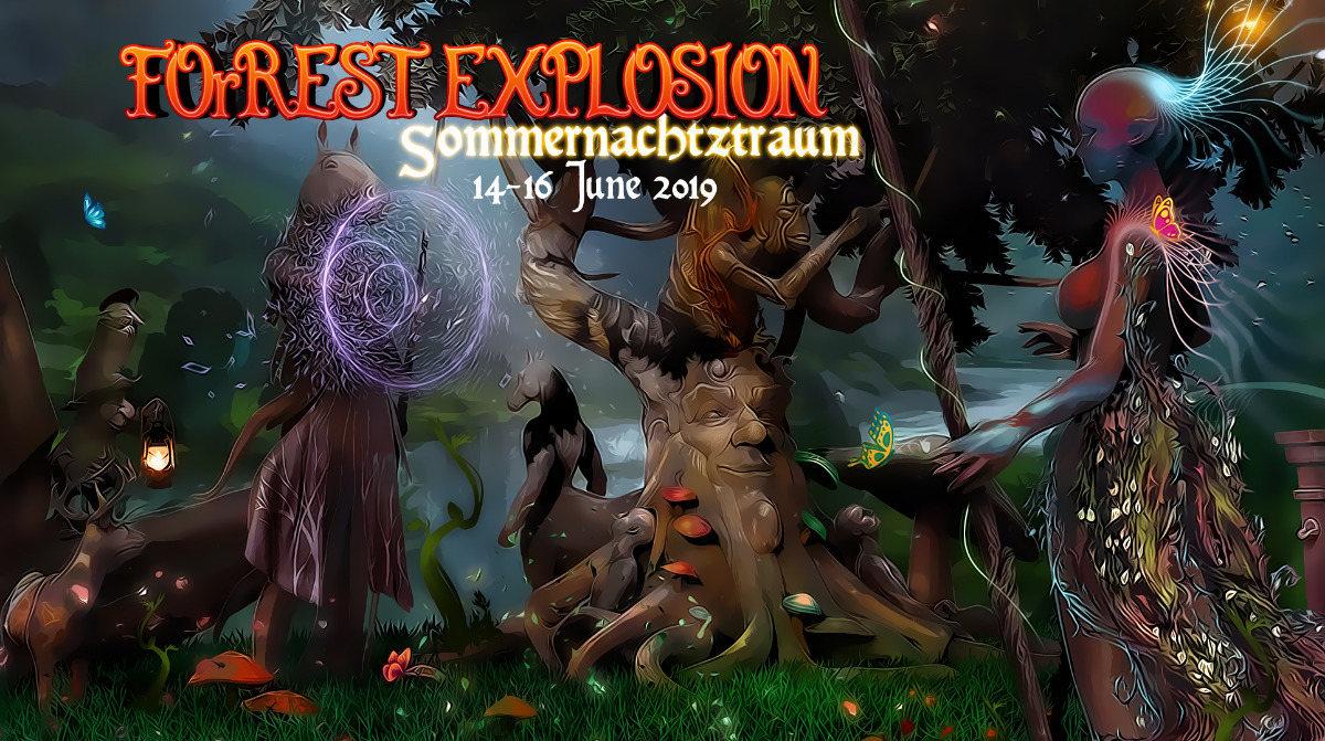 ForRest-Explosion S.N.T. Sommernachtztraum Festival 2019 14 Jun '19, 22:00