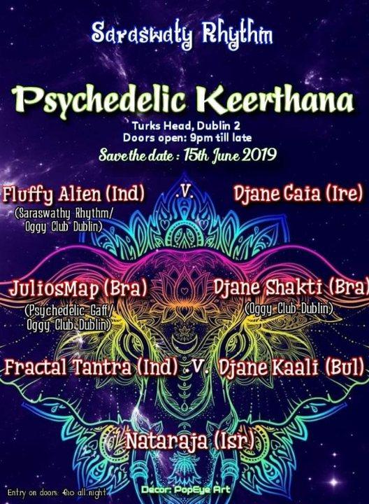 Psychedelic Keerthana 15 Jun '19, 21:00