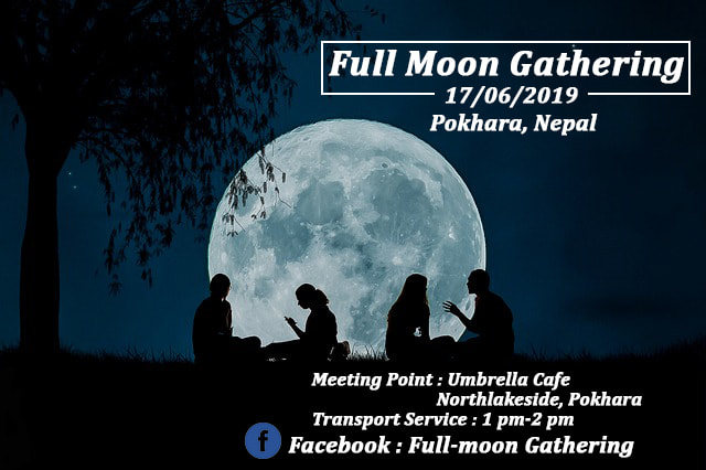 Full-moon Gathering 17 Jun '19, 01:00