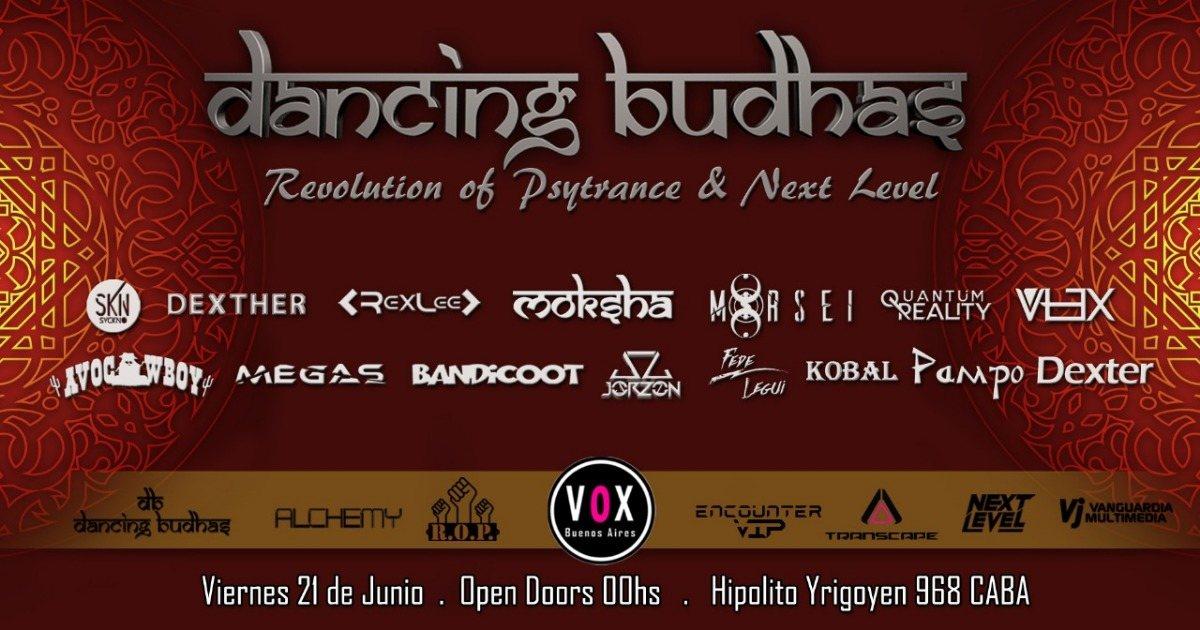 Dancing Budhas + ROP + Next Level 21 Jun '19, 23:30