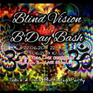 Blind Vision B'Day Bash w/Babajaka Sun/Dropkick/Sonica Tribe 22 Jun '19, 22:00