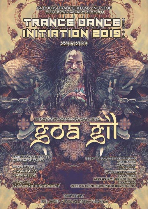 Goa Gil 24h / Trance Dance Initiation 2019 Open Air 22 Jun '19, 14:00