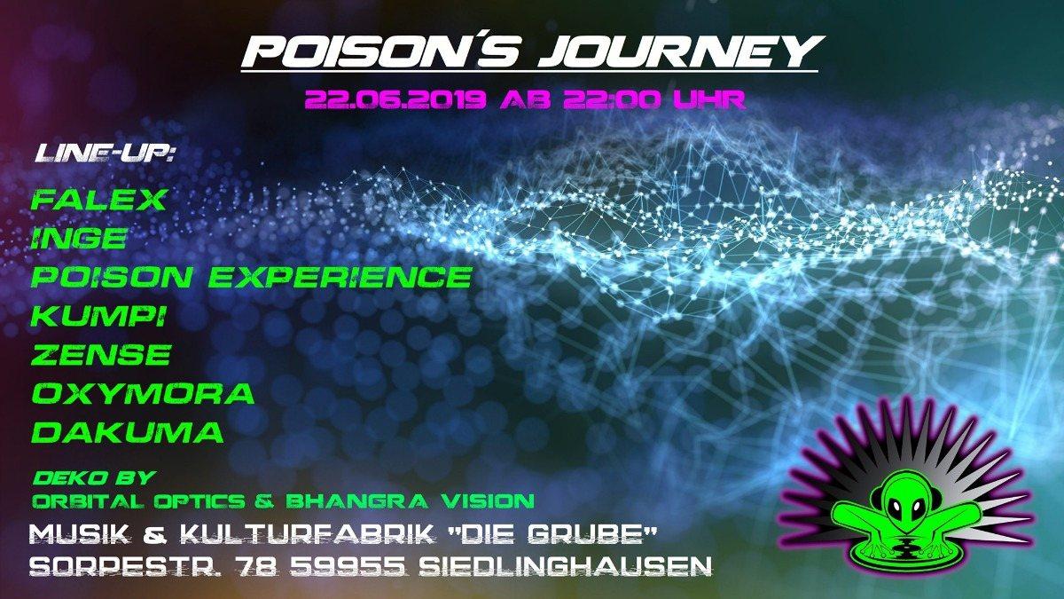 Poison´s Journey // Dirty Dancing (Die Grube) 22 Jun '19, 22:00