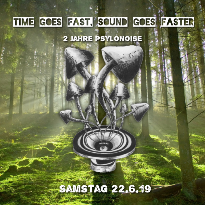 Time Goes Fast, Sound Goes Faster (2 Jahre PsyloNoise) 22 Jun '19, 22:00