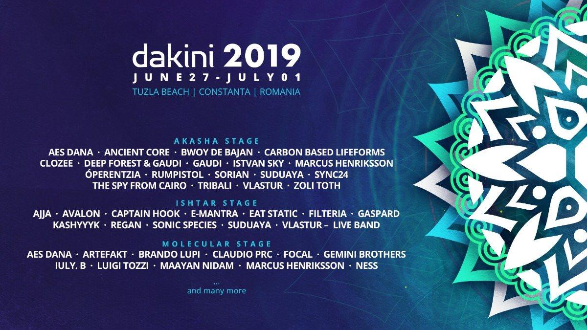 Dakini Festival 3rd Edition 27 Jun '19, 18:00