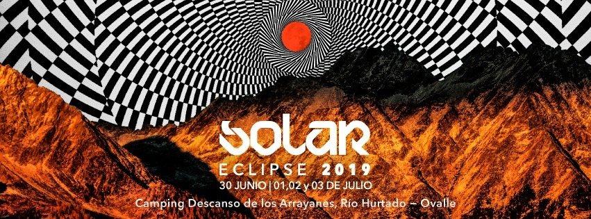 Solar Eclipse total 2019 Rio Hurtado Chile 30 Jun '19, 22:00