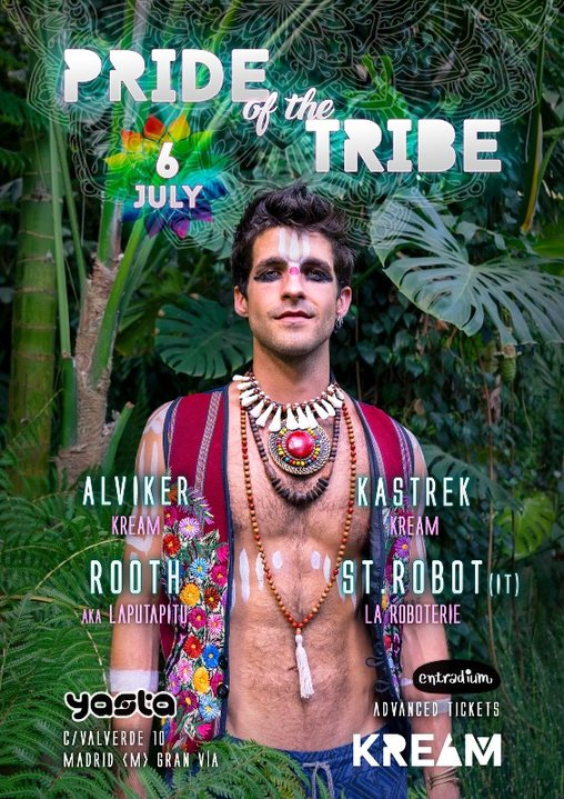 Pride of the Tribe 6 Jul '19, 23:30