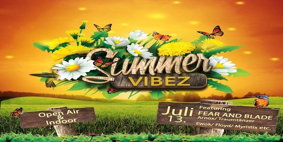ॐ °•SUMMER VIBEZ•° ॐ Open Air & Indoor 13 Jul '19, 18:00