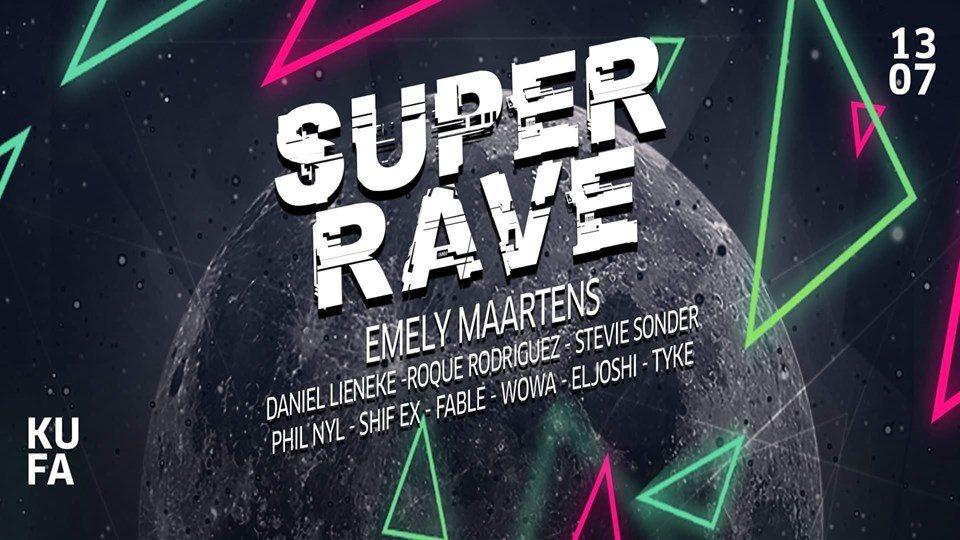 Super Rave w/ 10 DJs 2 Floors (Techno & Goa) 13 Jul '19, 23:00