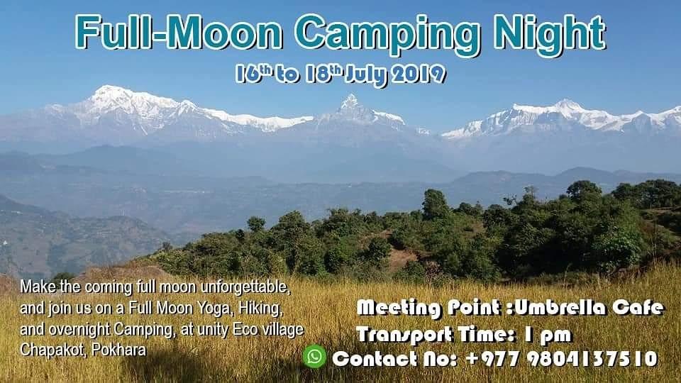 Fullmoon Camping Night 16 Jul '19, 22:00
