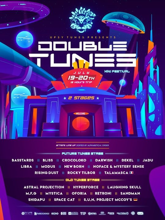 Double Tunes | 18 Hours of Psychedelic Experience 19 Jul '19, 23:30