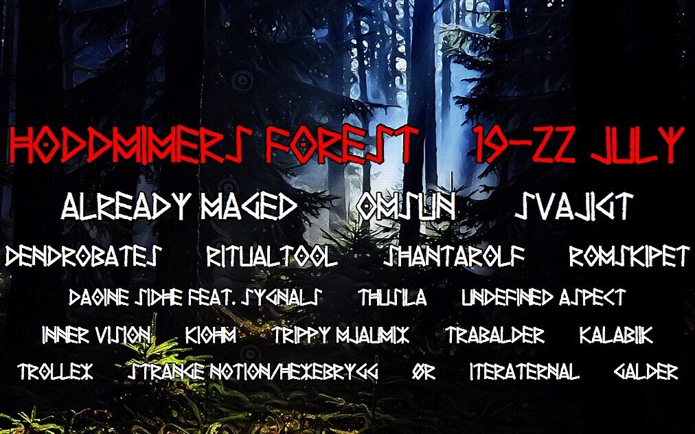 Hoddmimers Forest 19 Jul '19, 18:00