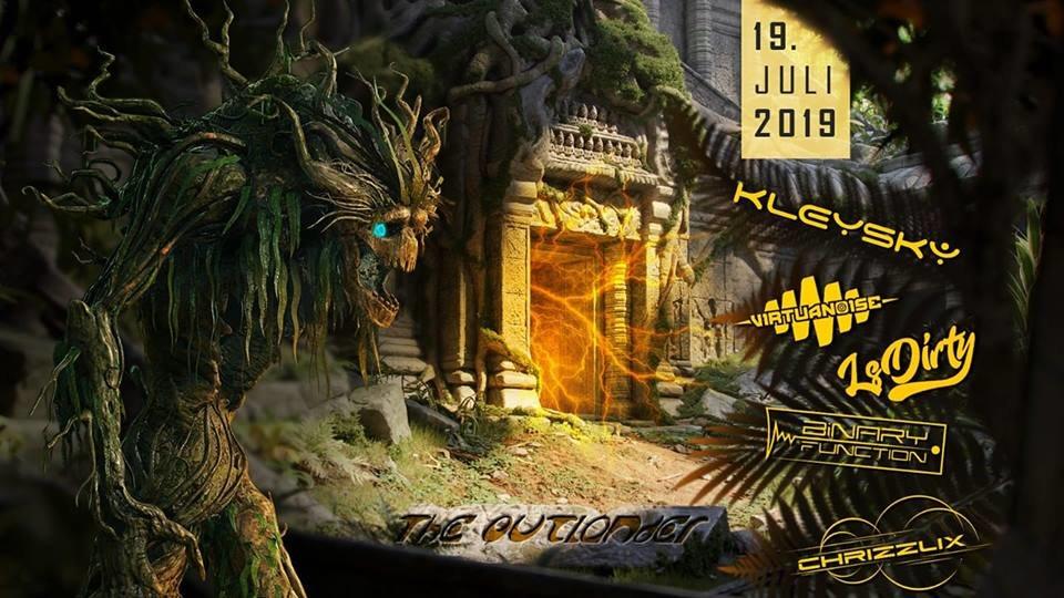 TheOutlander Festival | w/ Virtuanoise, LsDirty, Kleysky uvm. 19 Jul '19, 22:00