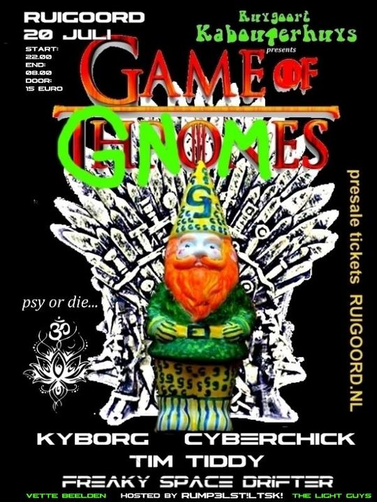 Game of Gnomes 20 Jul '19, 22:00