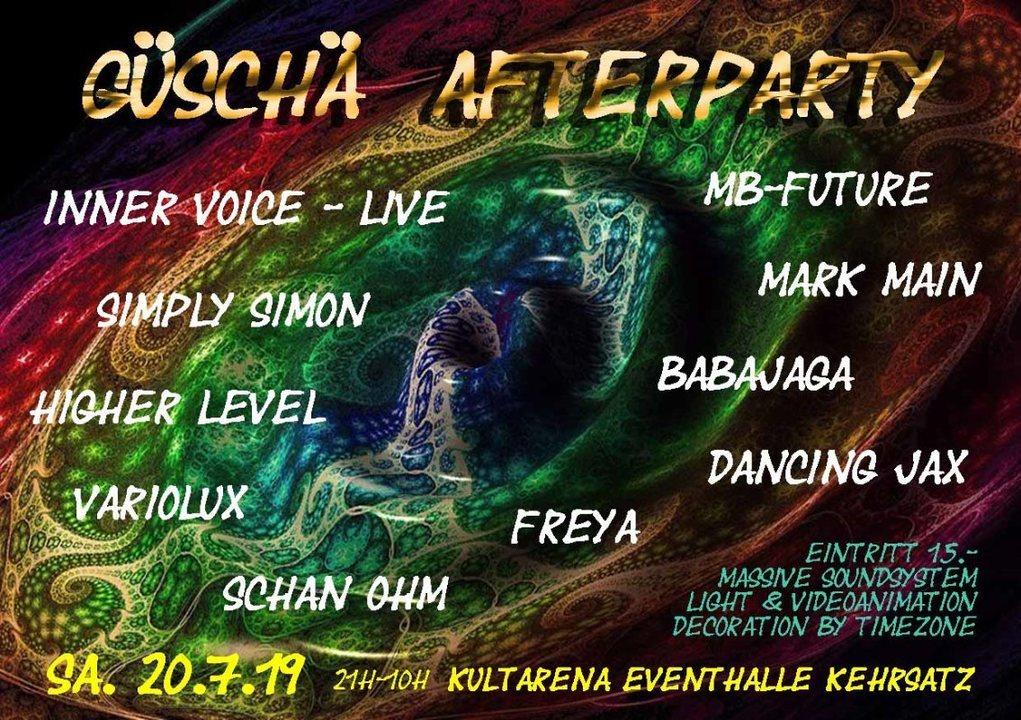 Güschä Afterparty 2019 20 Jul '19, 21:00