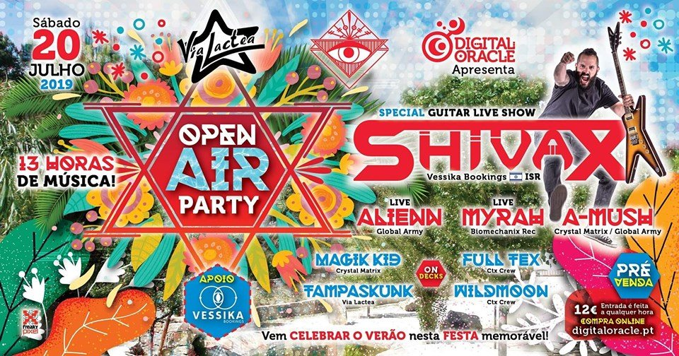 OPEN AIR VIA LACTEA 2019 20 Jul '19, 23:30