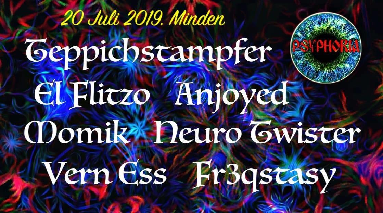 Psyphoria in Porta Westfalica - Outdoor & free entry 20 Jul '19, 18:00