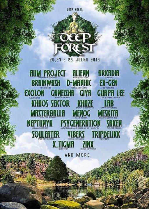 Deep Forest Festival 26 Jul '19, 15:00