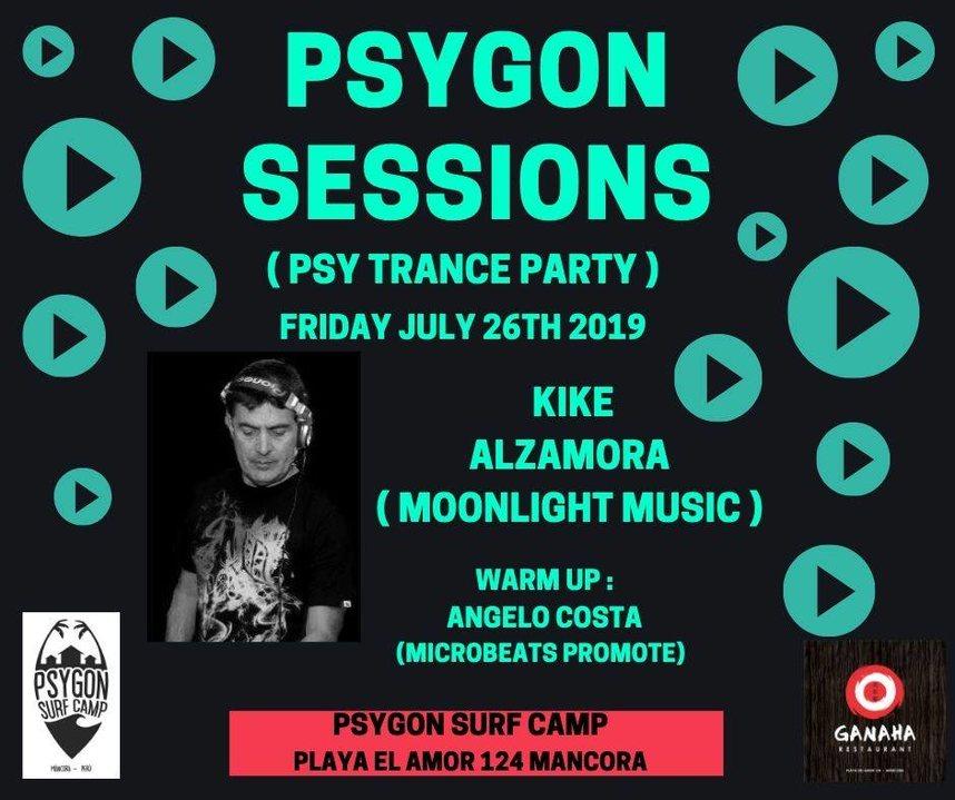 Psygon Sessions 26 Jul '19, 21:00