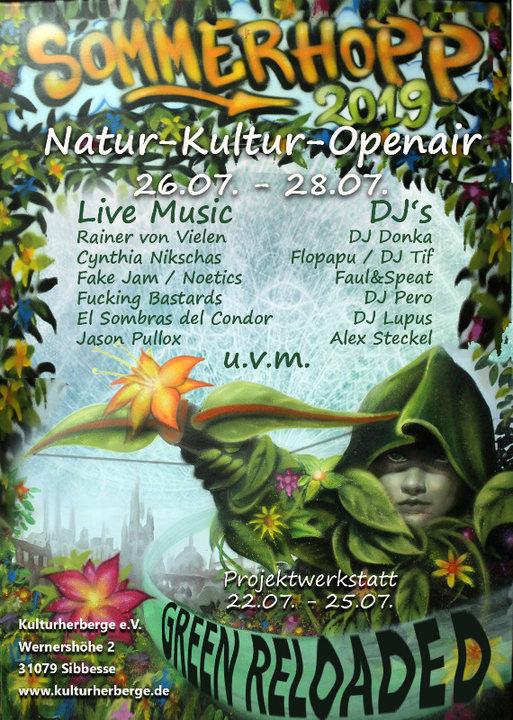 Sommerhopp Festival green reloaded 26 Jul '19, 16:00