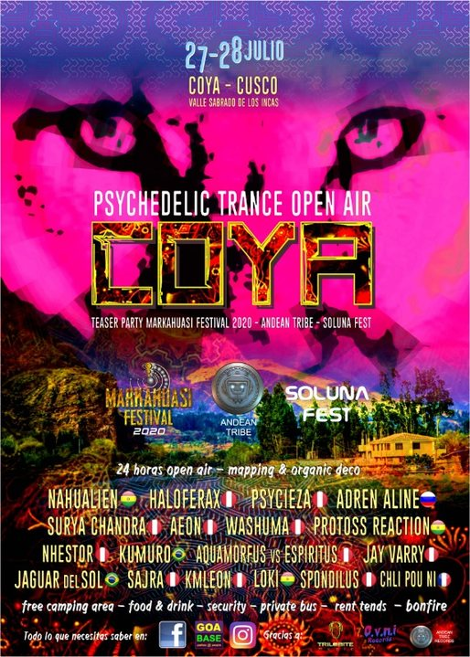 COYA Psychedelic Trance Open Air 27 Jul '19, 14:00