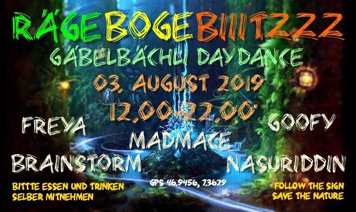 Gäbelbächli DayDance 3 Aug '19, 12:00