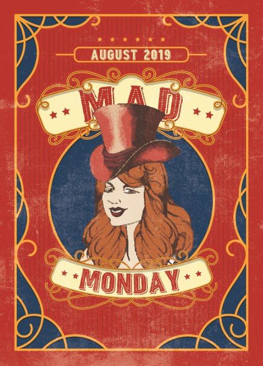 Mad Monday • presents Jackpotsystem on the Decks 5 Aug '19, 23:00