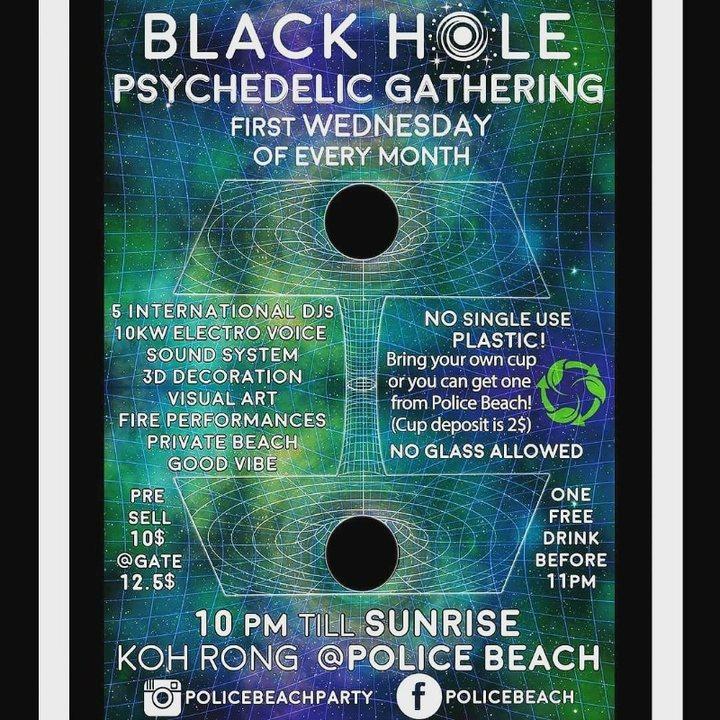 Black Hole Psychedelyc Gathering 7 Aug '19, 22:00