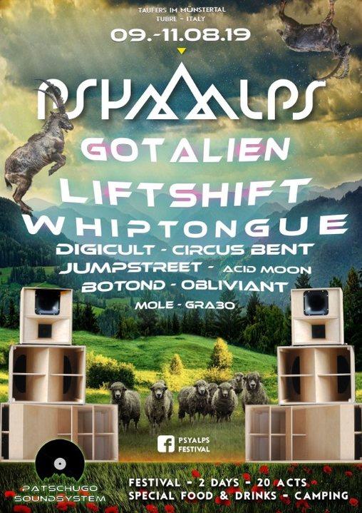 Psyalps Festival 9 Aug '19, 15:00