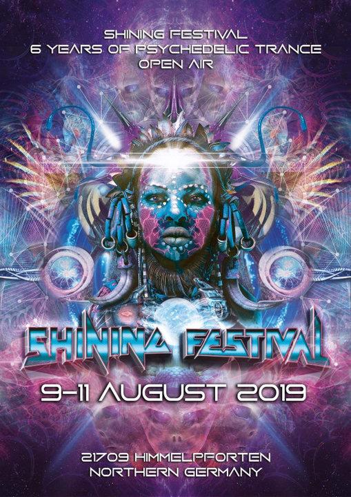 Shining Festival 2019 9 Aug '19, 14:00