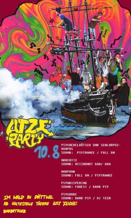 Atzeparty 10 Aug '19, 22:00