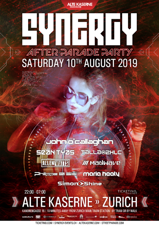 SYNERGY 'After Parade Party' 10 Aug '19, 22:00