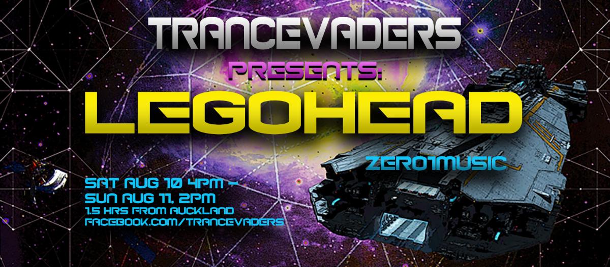 Trancevaders presents-LEGOHEAD 10 Aug '19, 16:00