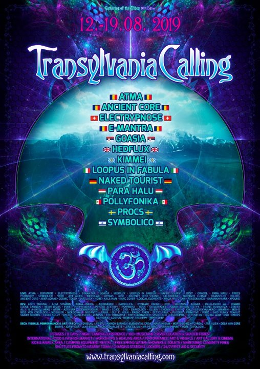 Transylvania Calling - Gathering of the Tribes / 10th Edition 12 Aug '19, 11:00