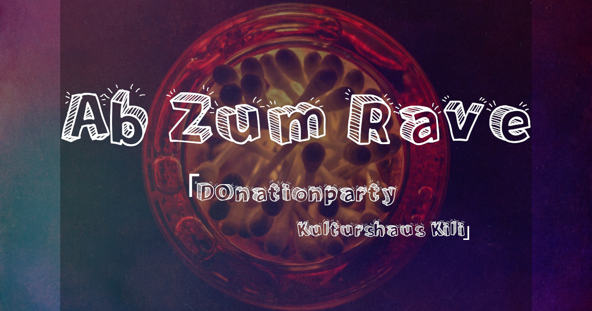 Freeparty ༆ Ab Zum Rave ভ Psy, Core, Techno on 3 Floors 16 Aug '19, 23:00
