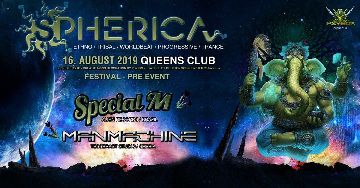 Psybox pres. Shperica Festival Pre Event 16 Aug '19, 22:00