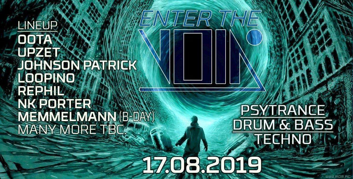 Enter the Void #30 VOID Berlin presents: Memmelmann's birthday 17 Aug '19, 23:00
