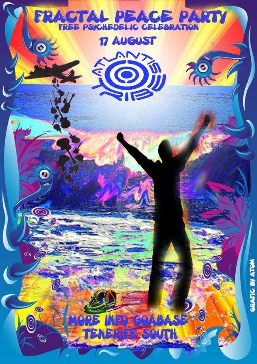 FRACTAL PEACE PARTY - Atlantis Tribe 17 Aug '19, 22:00