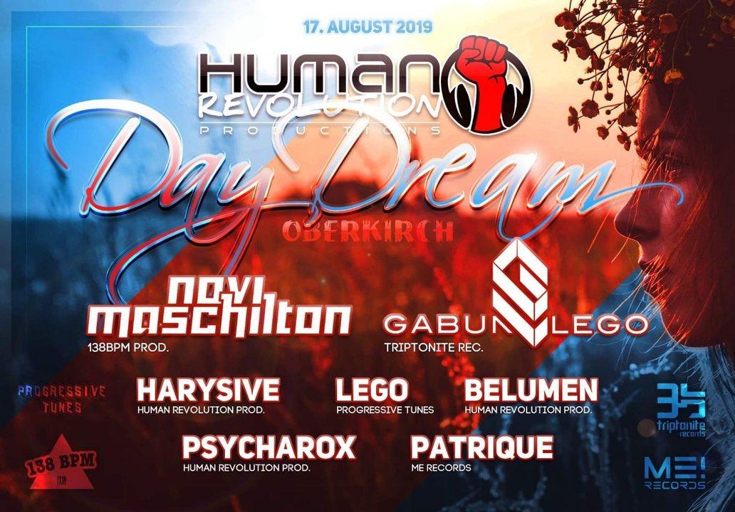 Human revolution day dream 17 Aug '19, 11:00