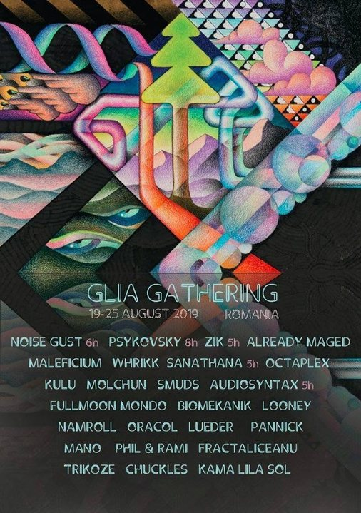 Glia Gathering 2019 19 Aug '19, 12:00