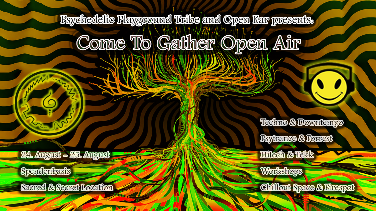 Come to Gather - An Open Playground #1 24 Aug '19, 14:00