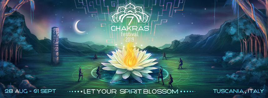 7 Chakras Festival 2019 28 Aug '19, 10:00