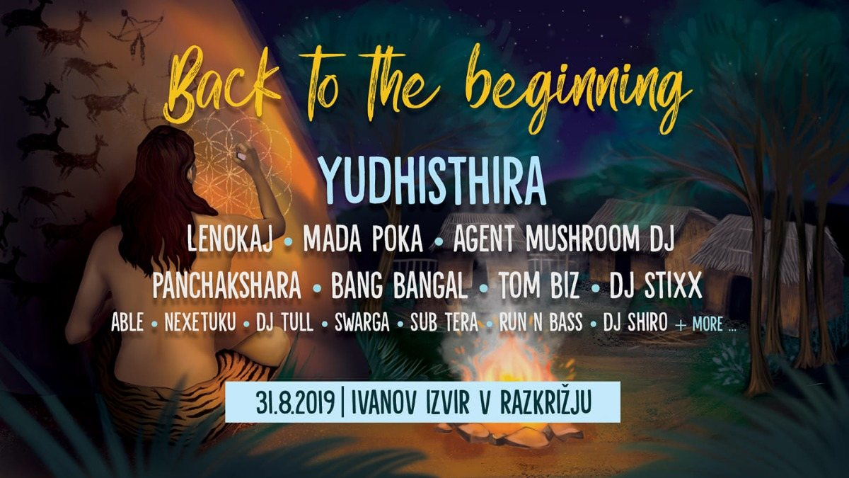 Back to the Beginning 31 Aug '19, 10:00