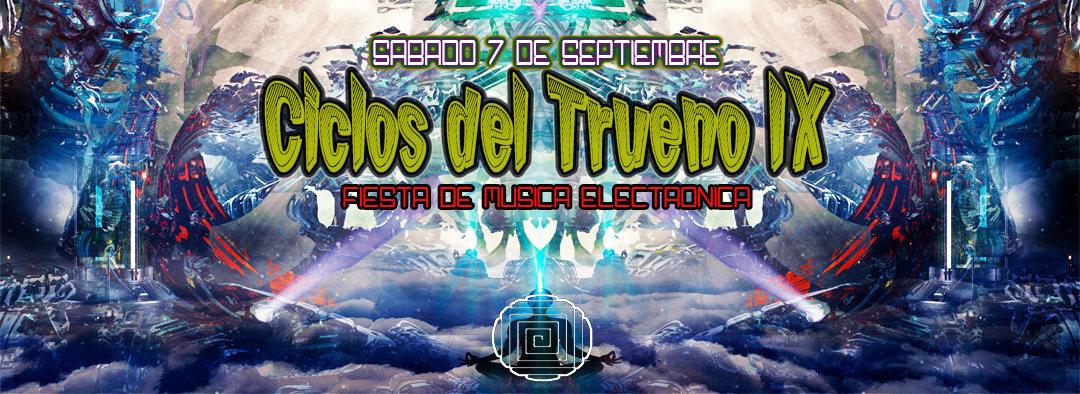 Ciclos del Trueno IX 7 Sep '19, 22:00