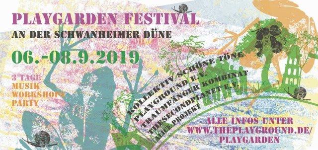 Playgarden Festival 2019 6 Sep '19, 22:00
